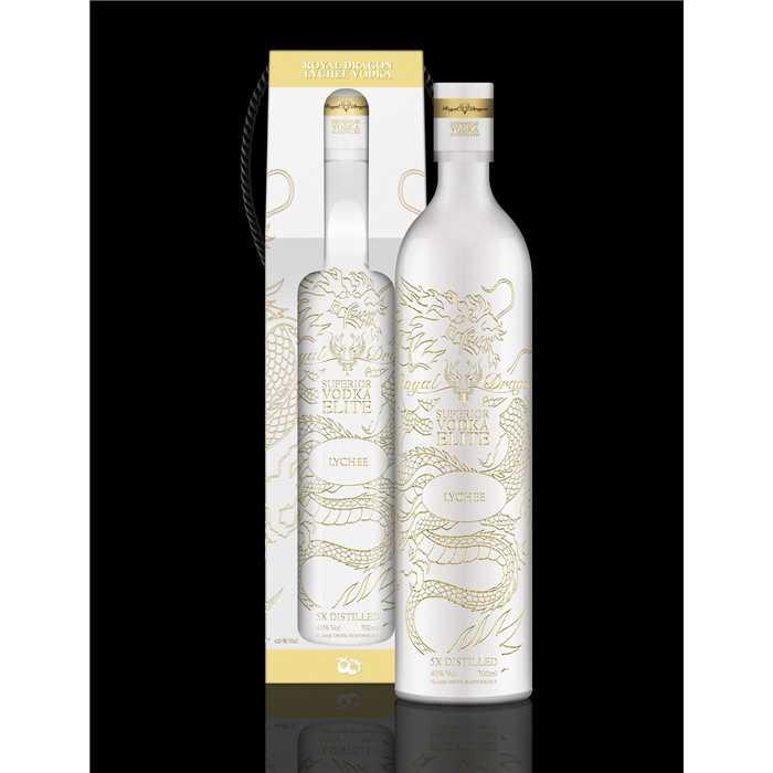 Atelier Du Barman   Vodka Royal Dragon Elite Lychee + GB 70cl 40°
